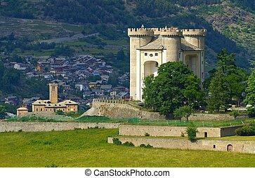 Aymavilles Castello