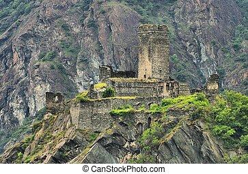 Montjovet Castello