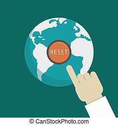 reset the earth - hand of god, press for punishment mankind