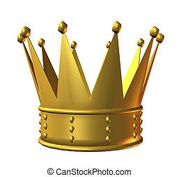 Ouro, coroa