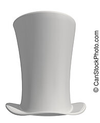 White Top Hat - White top hat