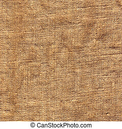 Old brown sacking backdrop - Surface of an old brown sacking...