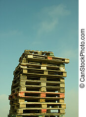Pile of Wood Pallets