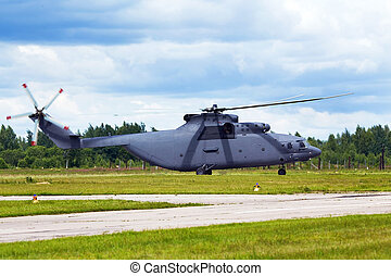 Military transport helicopter - Modern russian military...