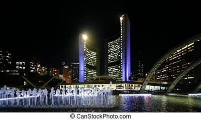 Nathan Phillips Square,Toronto - Nathan Phillips Square at...