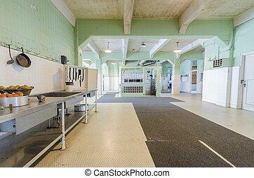 Alcatraz Dining Hall, San Francisco, California - The Dining...