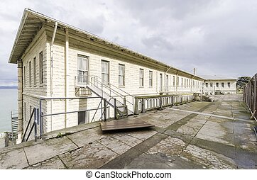 Alcatraz Building 64, San Francisco, California - Building...