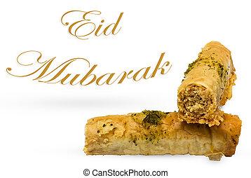 Eid Mubarak Muslims religious festival