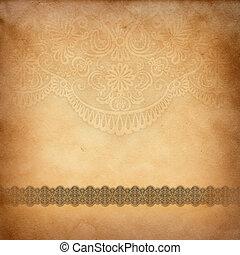 Årgång, papper, mönster