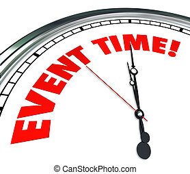 Event Time Reminder Clock Countdown Deadline - Event Time...
