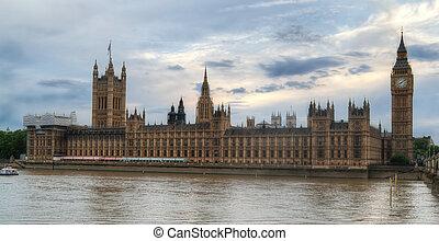 grande, Parlamento,  Ben,  hdr