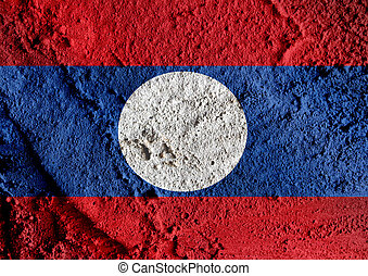 Flag of Laos themes idea design