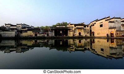 Beautiful scene of Hong Village in Anhui, China