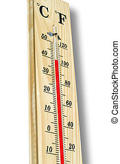 hot temperature - thermometer