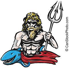 Poseidon, isolato