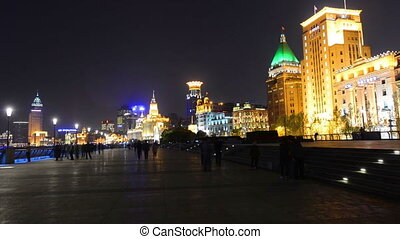 Shanghai Bund and historic building - Shanghai Bund and the...