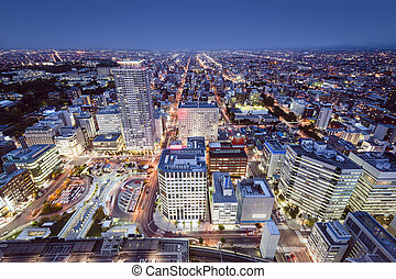 Sapporo, Japan - Sapporo, Japan cityscape in the Central...