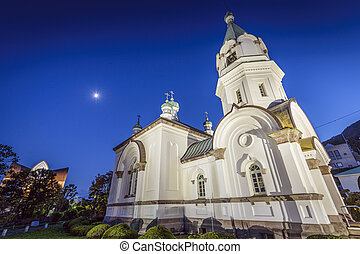Hakodate Orthodox Church - Hakodate, Japan at Hakodate...