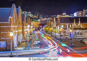 Hakodate, Japan - HAKODATE, JAPAN - OCTOBER 24, 2012:...