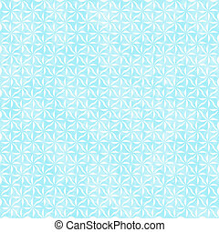 Teal and White Decorative Swirl Design Textured Fabric Backgroun