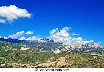 Abruzzo countryside decies - Abruzzo landscape from Tocco da...