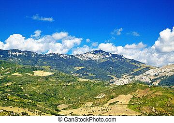 Abruzzo countryside duodecies - Abruzzo landscape from Tocco...