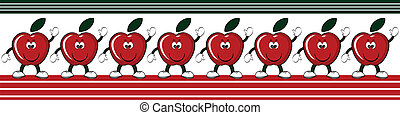 Apples border