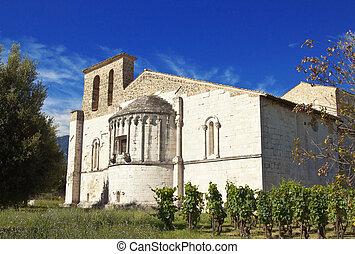 San Clemente septies - San Clemente abbey, apse exterior,...