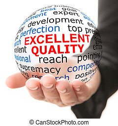 Concept of excellent quality
