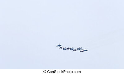 "Diamond of Kubinka - ""Diamond of Kubinka"" - aerobatics..."