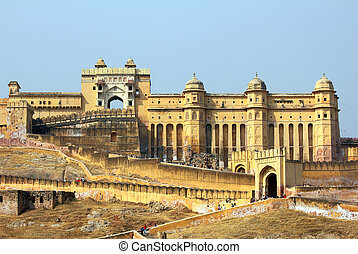Amber fort in Jaipur India - Amber fort in Jaipur Rajasthan...