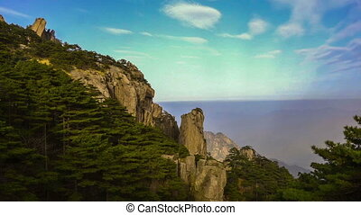 Beautiful scene in Yellow Mountain, Anhui Province, China