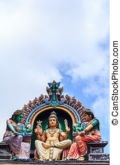 Sri Mariamman Temple, The Hindu Temple In Singapore
