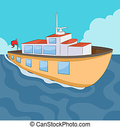 Ferry Boat - An image of a ferry boat.