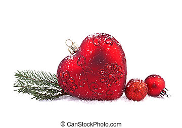christmas red heart - Christmas Red Heart
