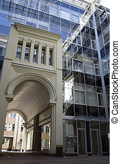 Modern building three