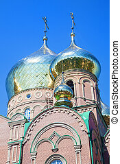 orthodox temple - Wonderful orthodox temple with some golden...