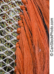 Fishing Nets with knots.