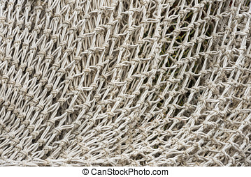 White net - White fishing net.