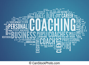 Word Cloud Coaching - Word Cloud with Coaching related tags