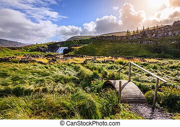 campo, Islandia