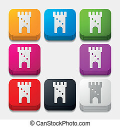 square button: fortress