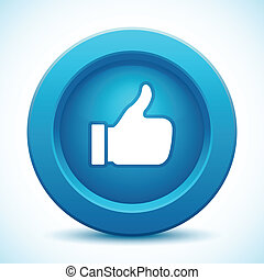 thumb up button