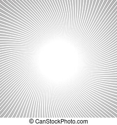 Radial Speed Lines graphic effects for use in comic