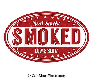 Smoked  stamp