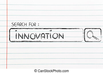 search engine bar, seeking innovation - seeking innovation,...
