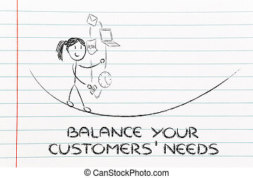 balancing your customers' needs: juggling with pc, document, ema