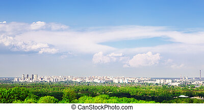 Kiev At Summer