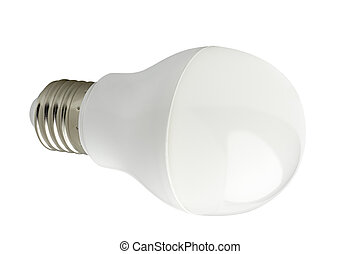 LED bulb. - LED lamp isolated on a white background.