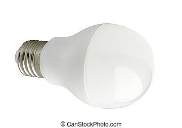 LED bulb - LED lamp isolated on a white background